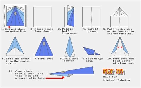 Collins Paper Airplane Folding - mag disk jul 1989 paperplane paperplane folding