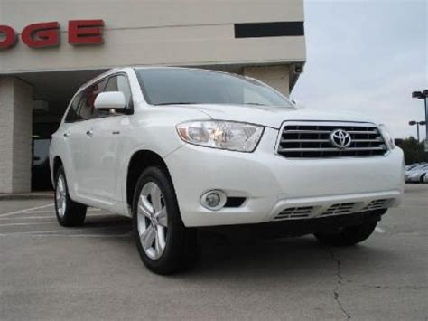 2008 Toyota Highlander Horsepower 2008 Toyota Highlander Limited Data Info And Specs