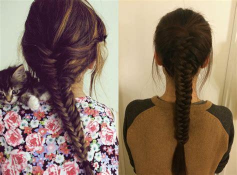 fluffy fishtail braid hairstyles for long hair cute fluffy fishtail braid hairstyles for long hair cute