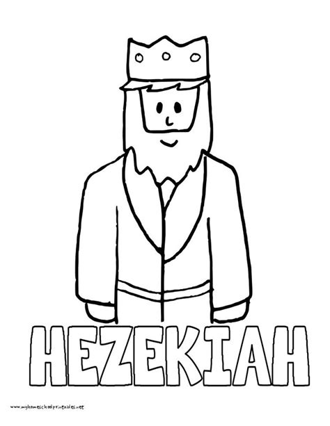bible king coloring page king hezekiah coloring pages for children 260 jpg 765 215 990