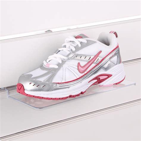 Shelf Sneakers by Slatwall Shoe Shelf