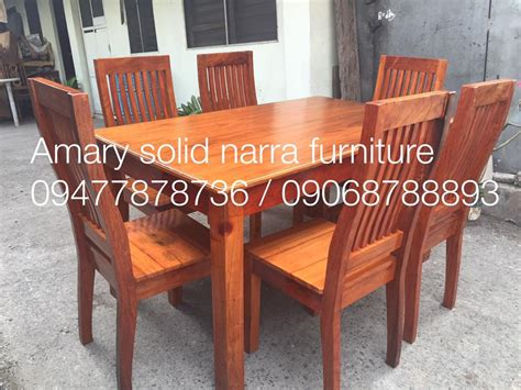 Used Dining Tables On Narra Dining Set Table Special Wooden Home Designs Top Design Ideas For You 10772 Nurani