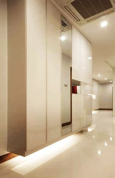 Flat Interior Design what is full height cabinet dimension in singapore