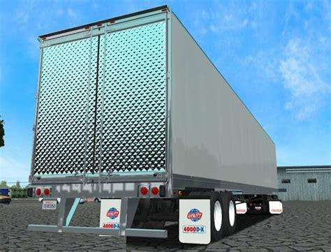 18 wos haulin mods trailer utility 4000dx 18woshaulin simulator games mods download