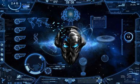 imagenes de windows 10 para pc el mejor tema alien blue futurista para windows 7 youtube