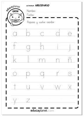 de la letra a actividades para imprimir fichas y actividades gratis para imprimir y aprender a