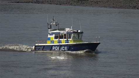 thames river police boats thames river police 1 london lon016 stock footage video