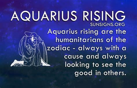 aquarius rising sign sun signs