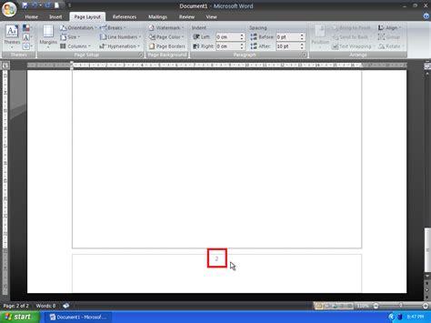 cara membuat dua halaman pada word cara membuat letak nomor halaman yang berbeda pada