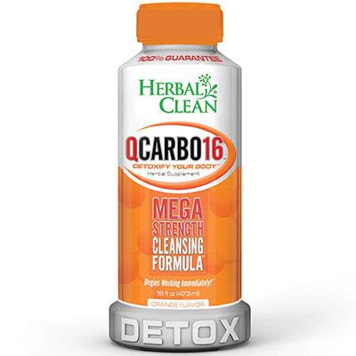 Qcarbo Clear Detox by Qcarbo Liquid Cranberry 16 Oz Herbal Clean Detox