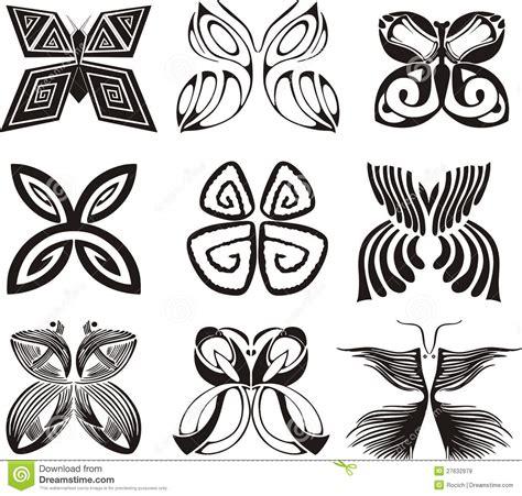 Imagenes Mariposas Estilizadas | mariposas estilizadas im 225 genes de archivo libres de