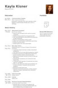 optometrist resume samples visualcv resume samples database