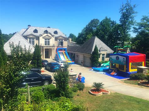 Bounce House Rentals Atlanta Inflatable Jumper Rentals Ti And Tiny House In Atlanta Address