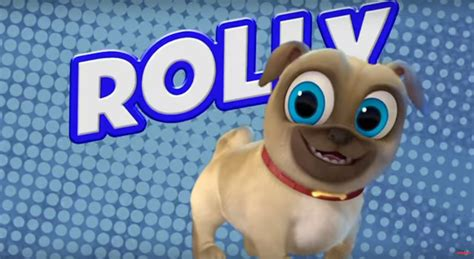 pug pals disney meet rolly pug from puppy pals tv show puppy pals