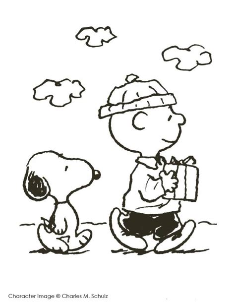 thanksgiving coloring page peanuts charlie brown thanksgiving coloring page