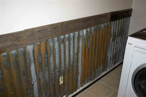 Tin Wainscoting Panels The B Farm Farm Laundry Room Wall