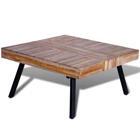teak coffee table vidaxl co uk coffee table square reclaimed teak