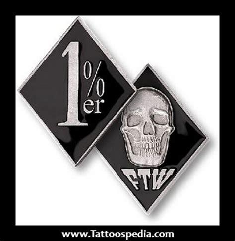 1 percent tattoo one percent
