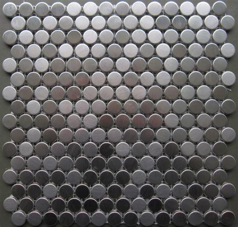 Metal Tile Flooring by 15 00sf Stainless Steel Metal Mosaic Tile