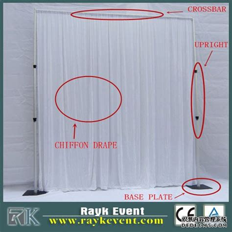 how to make pipe and drape systems pipe and drape pipe and drape systems used in event party