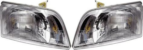 volvo vn vnl  vnm  series daycab truck headlight set ebay