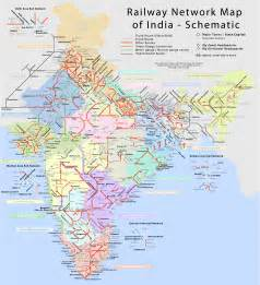 trusted indian railways indian railway network map
