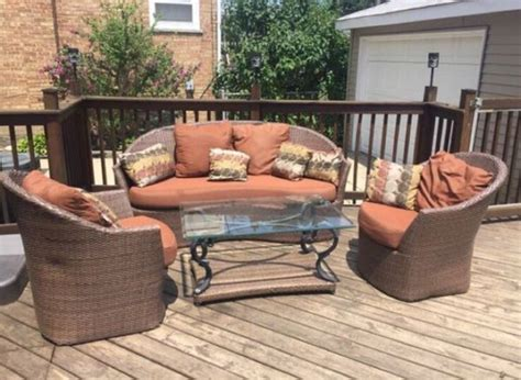 4 Piece Patio Furniture Sports Outdoors In Chicago Il Chicago Patio Furniture