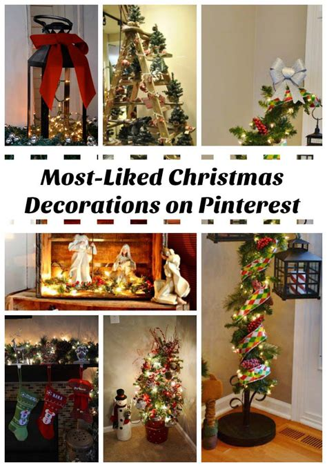 pinterest christmas 40 christmas decorations spreading on pinterest all