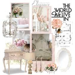 Country French Bedroom Furniture Sets by Shabby Chic Mood Board Polyvore