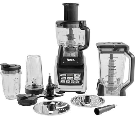 ninja kitchen appliances buy ninja nutri ninja bl682uk2 food processor black