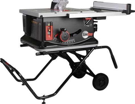 we are the jobsite table saw of choice sawstop sawstop