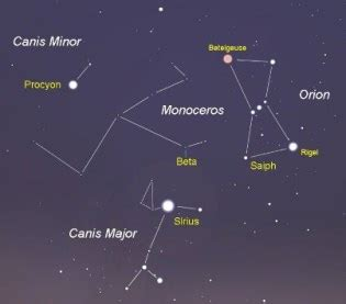 interesting facts about the constellation canis major