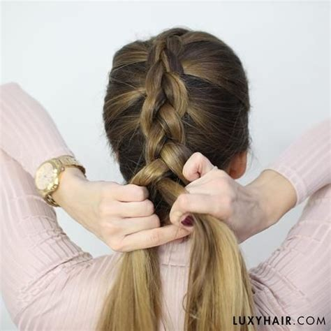 how to twist braid step by step how to do a dutch braid hair tutorial for beginners