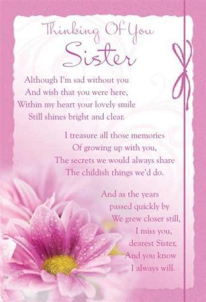 missing  sister  heaven poems sister