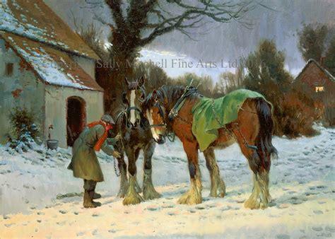 christmas cards sally mitchell fine arts