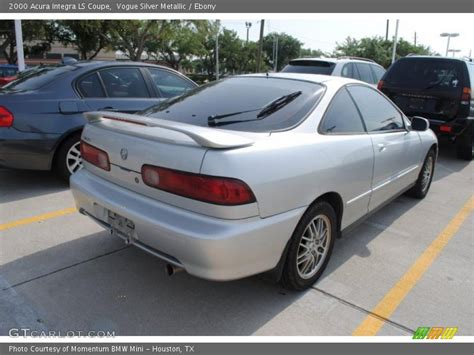 2000 acura coupe 2000 acura integra ls coupe in vogue silver metallic photo