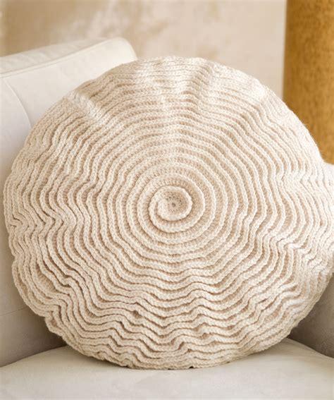 Crochet Pillow by Ruffle Pillow Crochet Pattern