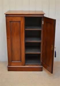 Mahogany Cabinet Doors Slim Two Door Mahogany Cabinet Antiques Atlas