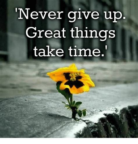 Kaos Quotes Things Take Time 25 best memes about never give up never give up memes