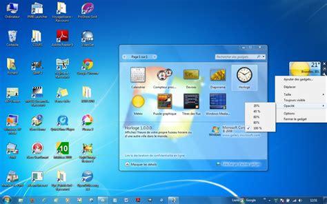 gadget de bureau windows 7 module 2 le syst 232 me d exploitation windows 7 2 2 les