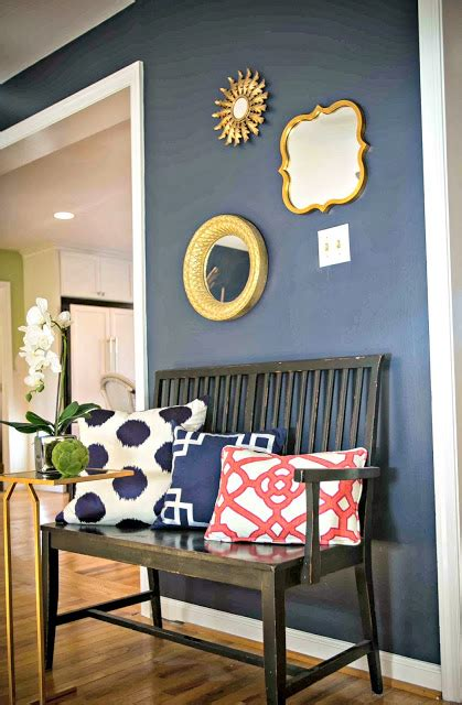 wall color inspiration wall color is hale navy by benjamin moore ikea decora