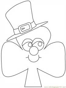 shamrock coloring pages picture of shamrock to print coloring home