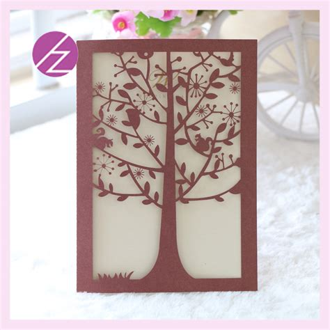 Wedding Invitation Card Handmade - 2016 greeting invitation cards deceration supplies