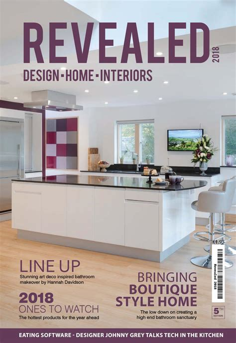 revealed design home interiors magazine 2018 by