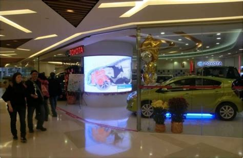 toyota showroom hong kong led display wall solution hk energy