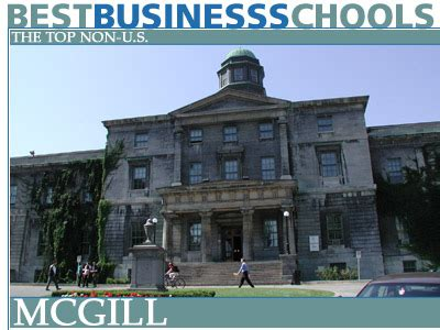 Hec Montreal Mba Gmat Score by The Top Non Us Business Schools