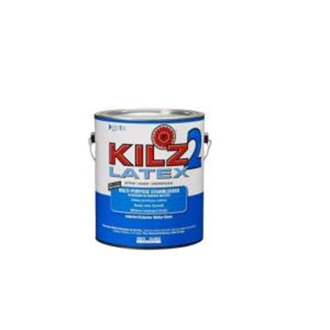 home depot paint no primer kilz 2 1 gal white primer and sealer 182411 the home depot