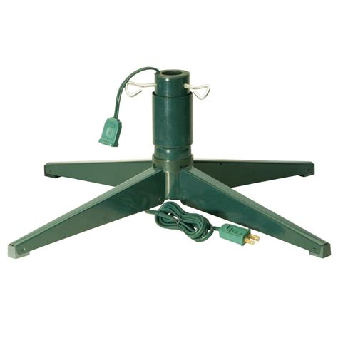 rotating christmas tree stand for 9 ft tree national tree company revolving tree stand rs 1 the home depot