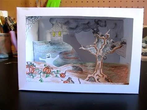 How To Make A Diorama Out Of Paper - how to make a tatebanko paper diorama