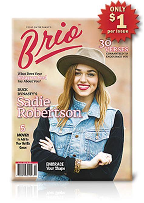 brio girls brio magazine for teen girls limited time offer